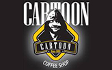 Cartoon Cafe Shop  logo