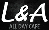 L&A All Day Cafe  logo