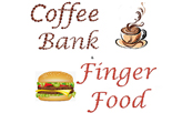 Coffee Bank & Finger Food  logo