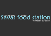 Savas Street Food Station  logo