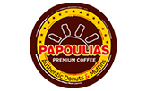 Papoulias Donuts  logo