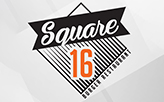 Square 16 burger Restaurant  logo
