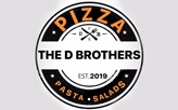 The D Brothers Pizza  logo