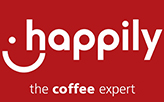 Happily The Coffee Expert  logo