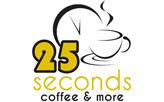 25 Seconds Coffee & More  logo