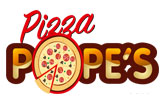 Pizza Pope's  logo