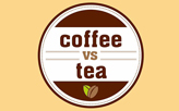Coffee vs Tea  logo
