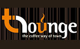 T LOUNGE THE COFFEE SIDE OF TOWN  logo